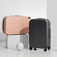 Maxi yeni Patent tasarım kadın bagaj erkek seyahat bavul tekerlekli çanta PC malzeme 20 24 inç M9262