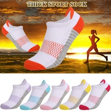 Men's low sweat-absorbent breathable running socks breathable wicking socks professional thickened sports women's socks