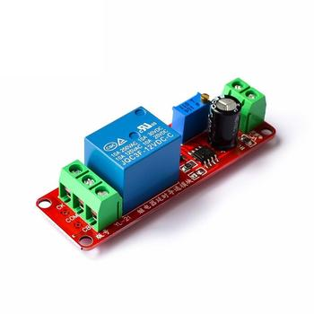 1 Pcs DC 12V Delay Timer Monostable Switch Relay Module NE555 Trigger Switch Car Oscillator Adjustable Time Shield Electronics image