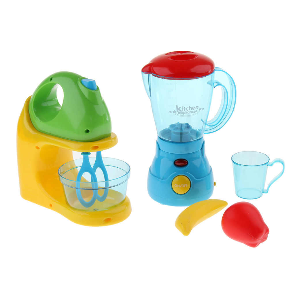 2pcs Role Play Kitchen Appliances Blender Juicer Playset Toy Kids Pretend Cooking Kit Xmas Gift For Children 3 Years Old Kitchen Toys Aliexpress