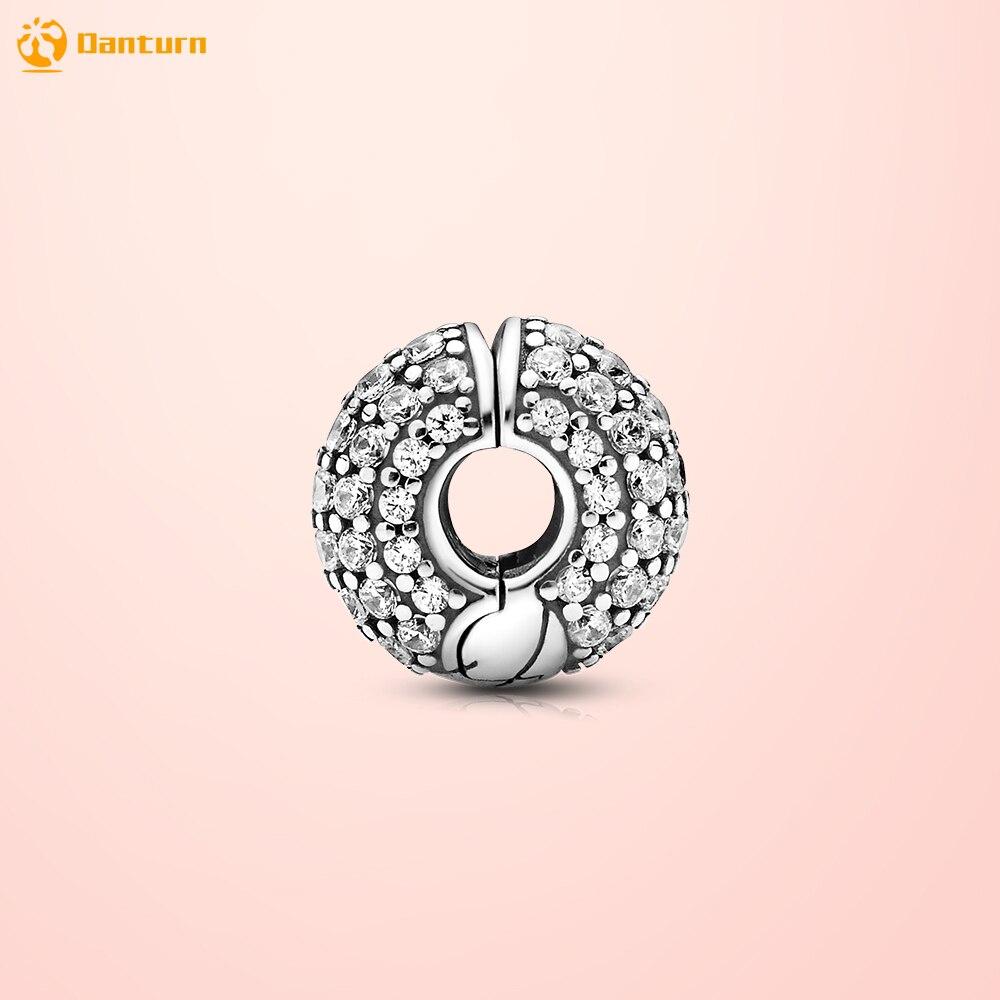 Danturn осень 925 Стерлинговое серебро бисер павильон змея цепь