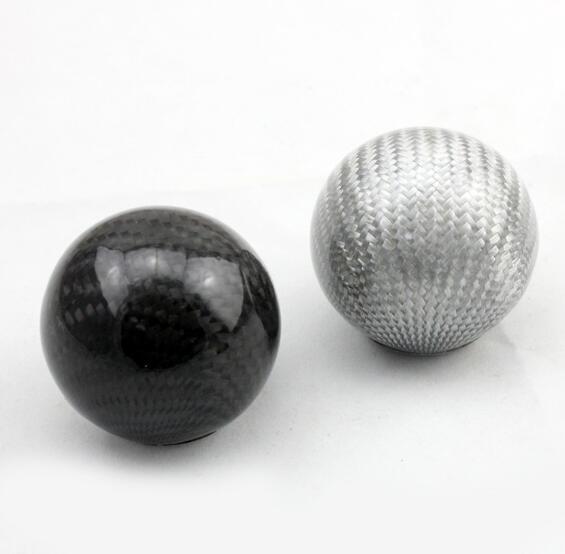 Углеродное волокно универсальная ручка переключения рулевого механизма автомобиля рычаг Stick Headball рычаг ручки