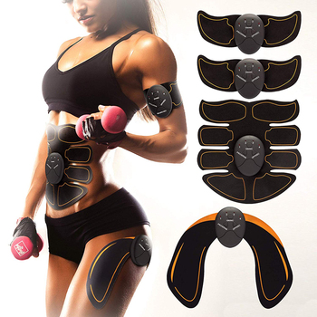 EMS Fat Burning Exerciser Electric Muscle Training Gym Smart Fitness Muscle Stimulator Abdominal Tool Muscle Stimulator Trainer ems abdominal muscle stimulator trainer exerciser hip trainer body slimming fat burning vibration fitness equipment gym workout