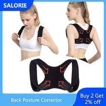 Correcteur de Posture ajustable pour le dos, clavicule, colonne vertébrale, épaules, lombaires, Bandage, arrêt de l'avachissement, pour hommes, femmes et enfants