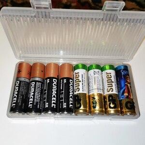 Image 5 - すべてのために18650 26650 16340電池ホルダー収納ボックス2 4 8 aa aaa充電式バッテリーコンテナオーガナイザー