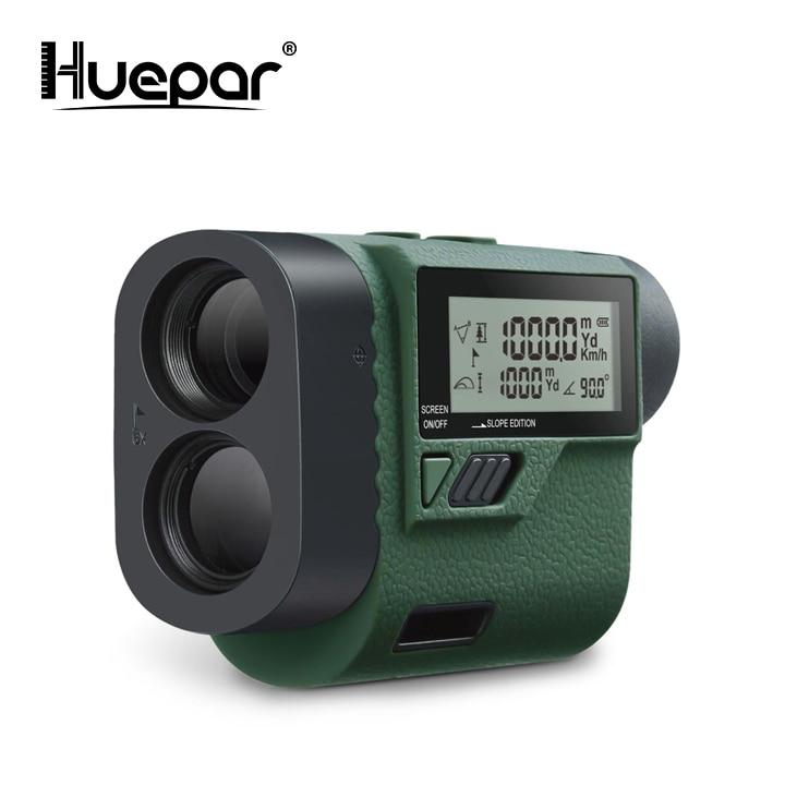 Huepar 1000m telescópio laser rangefinder medidor de distância a laser golfe caça laser range finder fita medida roleta esportes