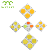 3W-30W COB Light Source Integrated COB Light Lamp Source for Spotlight Downlight White Blue Red Green Pink Color