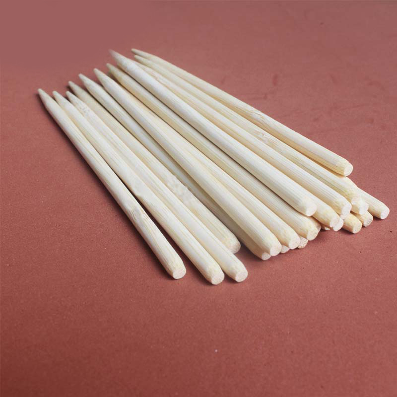 High Quality Bamboo Stick Bamboo Brush Children Sand Painting Handle Light Clay Accessories Length15cm And Diameter 7mm