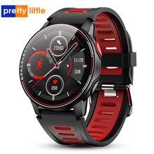 S20 Smart Horloge Mannen IP68 Waterdichte Fitness Tracker Hartslagmeter Smart Klok Full Touch Nieuwe Smartwatch Voor Android Ios