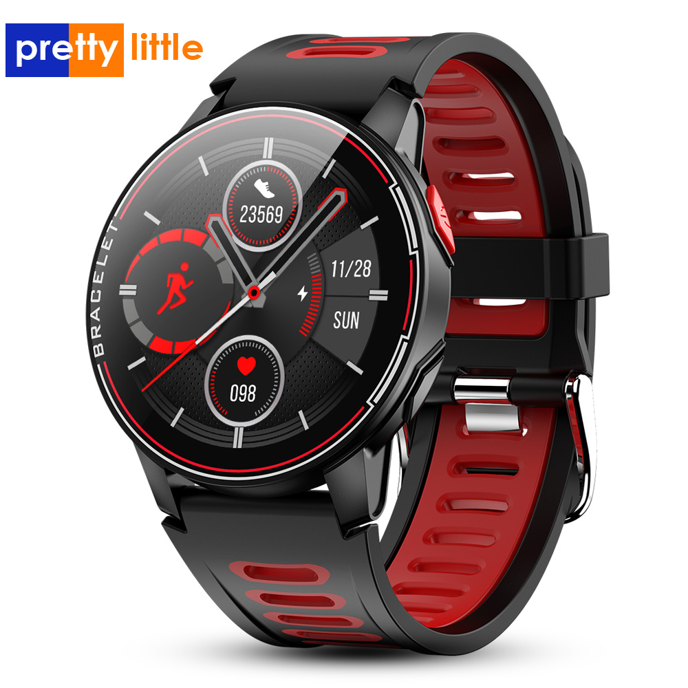 S20 Smart Watch Men IP68 Waterproof Fitness Tracker Heart Rate Monitor Smart Clock Full Touch New Smartwatch For Android IOS