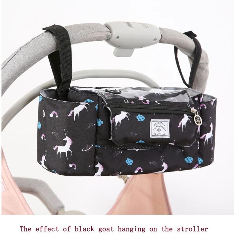 Hda4ed1577b4e4c0084db45b7cdea069a8 Baby Stroller Organizer Nappy Bag Mummy Waterproof Hanging Carriage Bottle Bag Handbag Pram Buggy Cart Organizer Diaper Bag