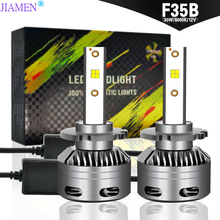 JIAMEN H7 LED H4 H11 Car Light Headlight Bulb 6000LM H8 H1 HB3 9005 9006 880 H27 H9 100W 6000K 12V 24V Auto HB4 Led