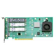 Heatsink Pcie Support Rise ANM24PE16 Ceacent M.2-Controler M.2 Ssd with