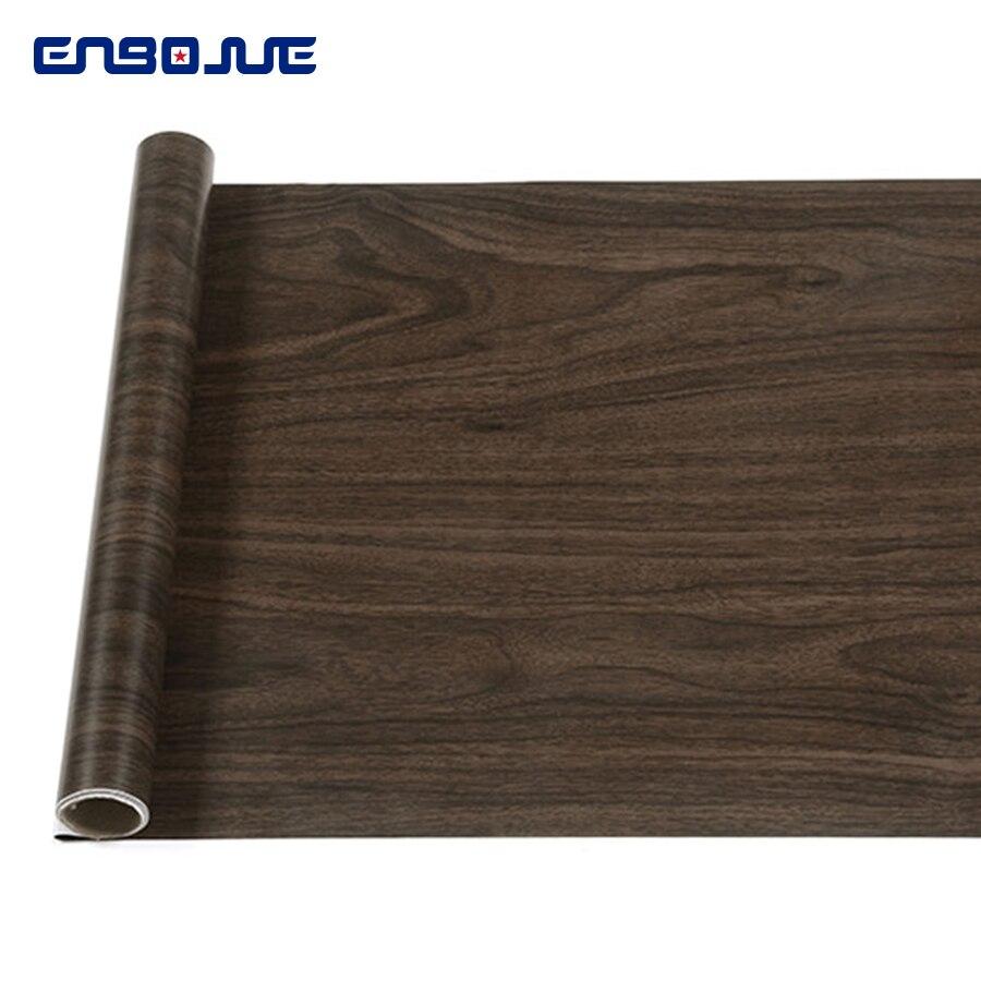 0.45x3M Furniture Decorative Film Self Adhesive PVC Wallpaper Cupboard Wardrobe Door Stickers Wood Grain Wall Sticker Waterproof