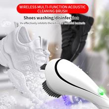 Przenośne ręczne automatyczne elektryczne polerki do butów automatyczna szlifierka do butów czyszczenie butów skórzana elektryczna szczotka do butów tanie tanio ABEDOE Z tworzywa sztucznego electric shoe brush Włosia końskiego Plush
