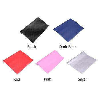 3D High Glossy Carbon Fiber Vinyl Car Wrap Sheet Roll Film Paper Waterproof Motorcycle Car Stickers Decals Car Styling Accessory image