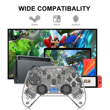 For NS Switch Pro Wireless Bluetooth Game Controller For Nintendo Switch For NS Pro Remote Gamepad For Nintend Console Joystick