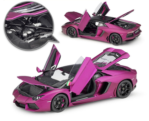 Image 3 - WELLY Diecast 1:18 High Simulator Model Car Lamborghini Aventador LP700 Metal Racing Car Alloy Toys For Kids Gifts Collection