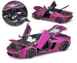 Image 3 - WELLY Diecast 1:18 Yüksek Simülatörü Modeli Araba Lamborghini Aventador LP700 Metal Araba Yarışı Alaşım Oyuncaklar Çocuklar Için Hediyeler Koleksiyonu