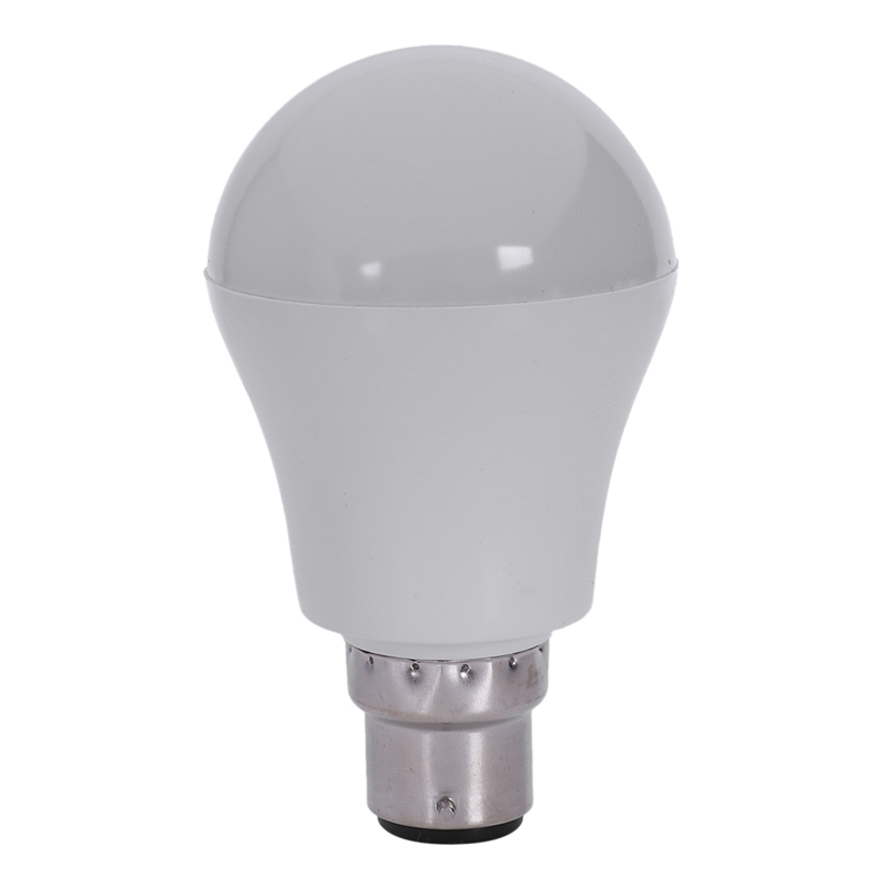 New-B22/430LM 5W LED Microwave Radar Motion Sensor Lighting Lamp  White