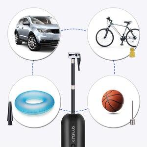 Image 3 - CYCPLUS A3 חשמליים רכב צמיג Inflator בלחץ גבוה נייד משאבת אוויר עבור כדורי 150psi אופניים אבזרים