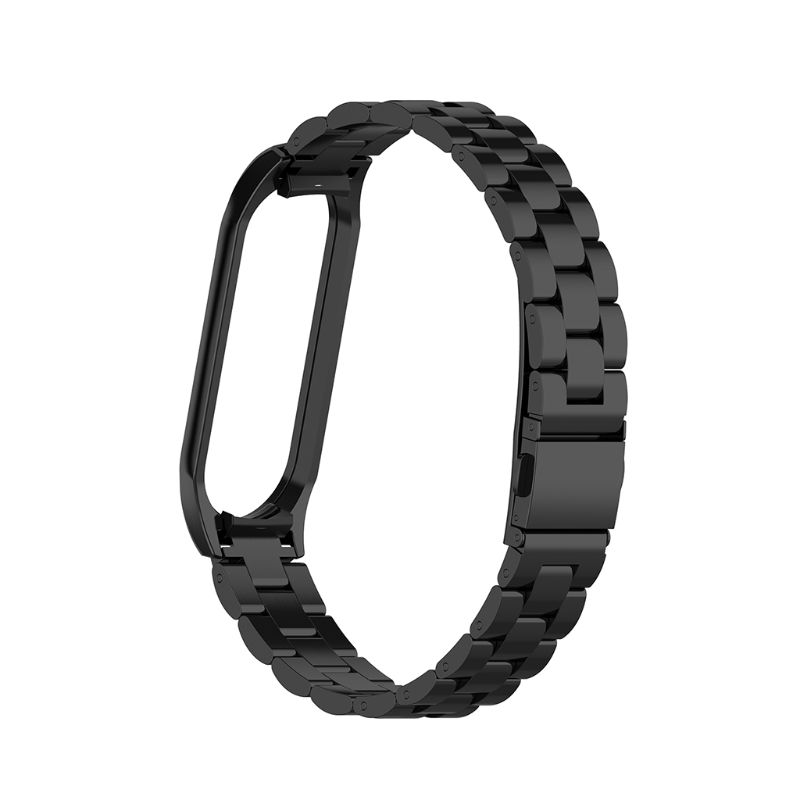 Mi bande 4 sangle métal acier inoxydable pour Xiao mi bande 4 sangle Compatible Bracelet mi bande 3 bracelets Pulseira mi band3
