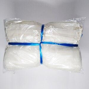 Image 4 - 500 adet İpli takı çantaları kılıfı 5x7 7x9 9x12 10x15cm organze çantalar düğün ambalaj hediye çantası parti dekorasyon takı çantası