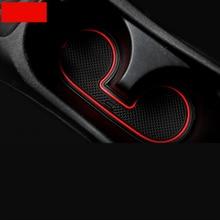 цена на Lsrtw2017 Emulsion Car Door Slot Cup Slot Mat for Mitsubishi Outlander Sport Asx RVR 2011-2019 Interior Accessories