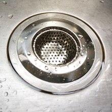 Stainless Steel Sink Strainer Filter Water Stopper Floor Drain Hair Catcher Stopper Bathtub Plug Bathroom Accessories