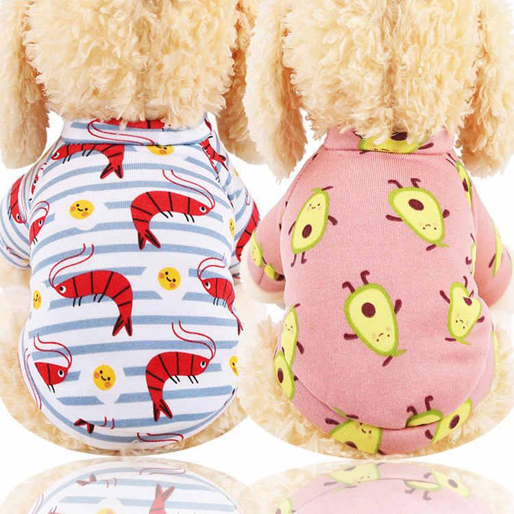 Herfst Winter Print Leuke Hond Kleren Pluche Sweatshirt Coat Puppy Kleding Trui Shirt Kat Kleding Levert Hoge Kwaliteit
