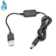 USB تيار مستمر 5 فولت محرك مهائي كابلات للكاميرا تيار مستمر مقرنة PW20 AC PW20 FW50 كانون DR E6 (ACK E6) LPE6 DR E18 (ACK E18) LPE17 DR 400