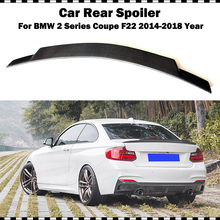 C74 style carbon fiber rear trunk spoiler For BMW 2 series coupe 220i 225i M235i M240i 2014-2018 year F22 CF rear spoiler wing электромобили hebei bmw 2 series coupe