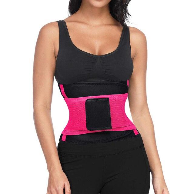 1set Women Waist Trainer Neoprene Belt Weight Loss CincheWaist Trainer Sweat Belt for Women Weight Loss Tummy Body Shaper Girdle 5