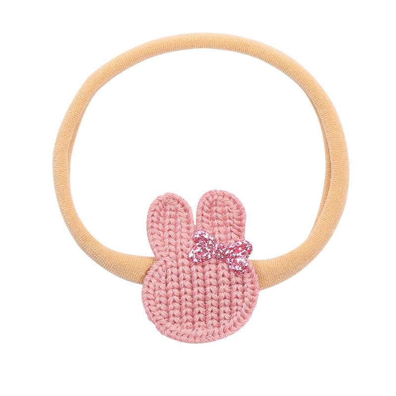 תינוקת סרטי ראש תינוק שיער אביזרי יילוד בארה 'ב Bowknot ורוד נסיכת כתר כיסוי ראש מתנה פעוטות סרט