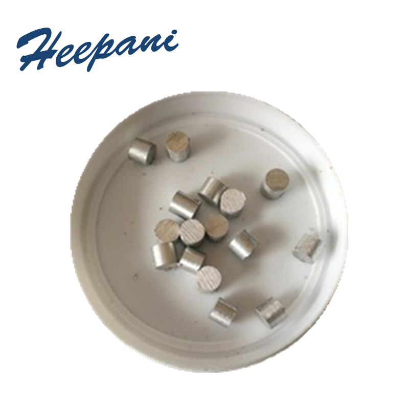 60G/PACK 4N Hafnium Granules With 99.9% Purity Scientific Research Materials Vacuum Hf Metal Pellets For Evaporation Coating