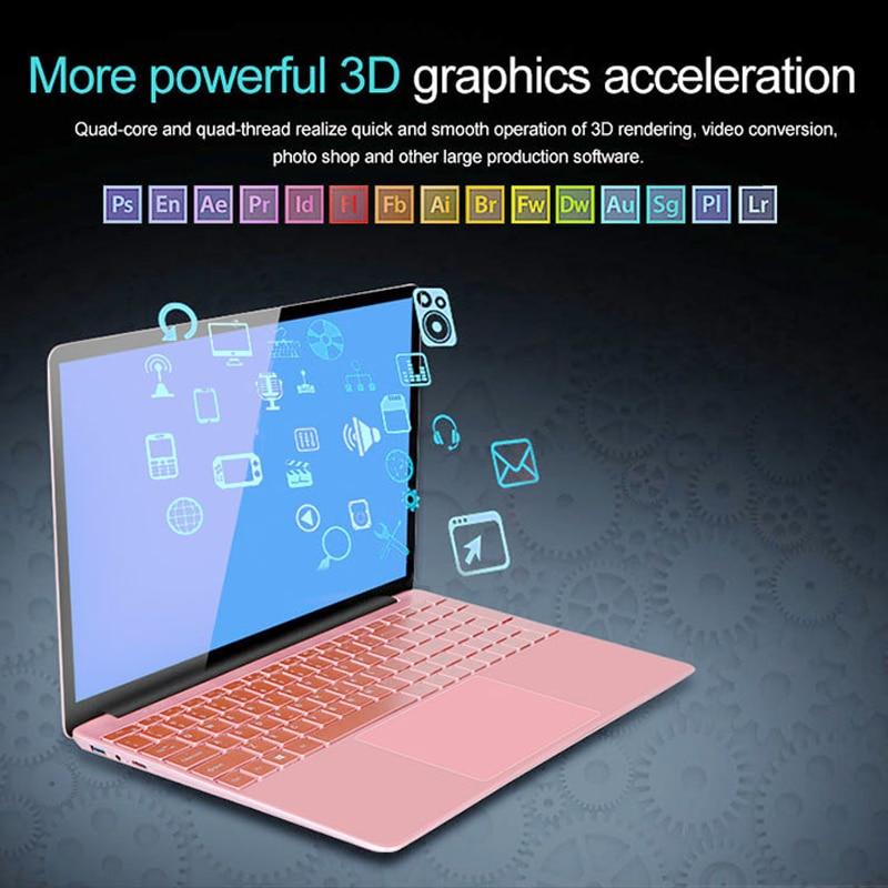 15.6' Metal Backlit Laptop 8G RAM DDR3 1TB 512G 256G 128G SSD Gaming Laptop Ultrabook Intel Quad Core Win10 OS Notebook Computer 6