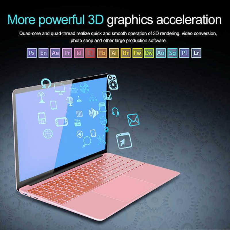 كمبيوتر محمول 15.6 بوصة 8GB RAM 128G 256G 512GB 1 تيرا بايت SSD هيكل معدني 1080P Win10 OS كمبيوتر محمول للألعاب مع لوحة مفاتيح بإضاءة خلفية