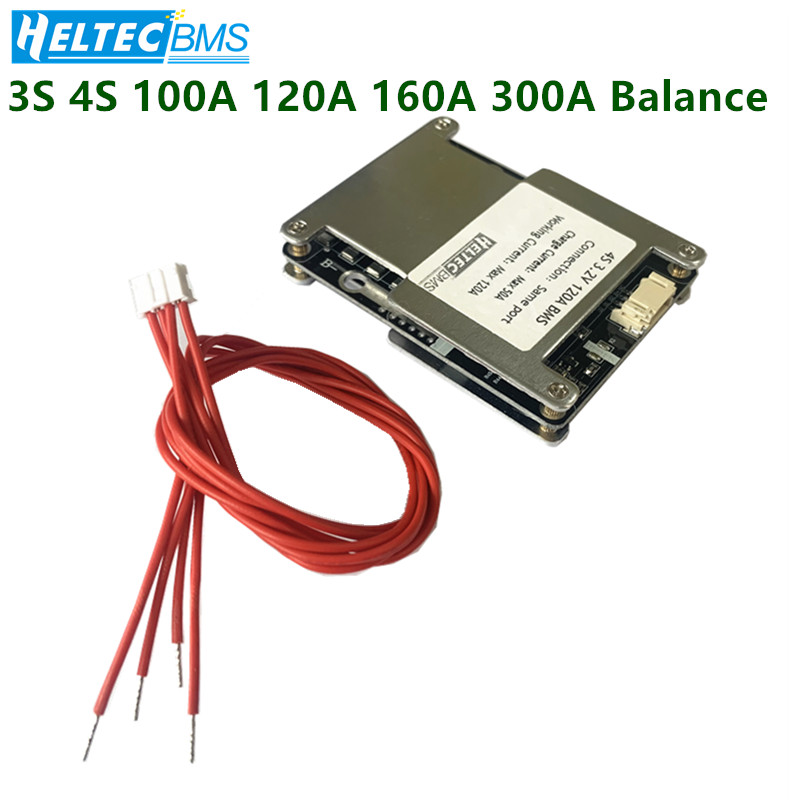 BMS 3S 4S Balance 100A 120A 160A 300A 12.6V/16.8V 18650 Battery Protection Board Li-ion/LiFePo4  Ups Inverter, Motorcycle, Car