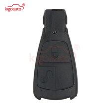 цена на Kigoauto Smart key case for Mercedes Benz E C S CLK 2 button IYZ 3302 smart remote key replacement cover shell