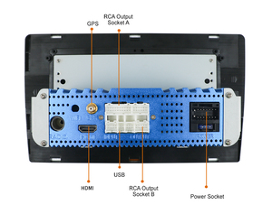 Image 4 - 1 الدين DSP HDMI راديو السيارة 4 جرام RAM 64 جرام ROM أندرويد 10 سيارة autoradio كاسيت لاعب مسجل لتحديد المواقع الملاحة عجلة القيادة التحكم