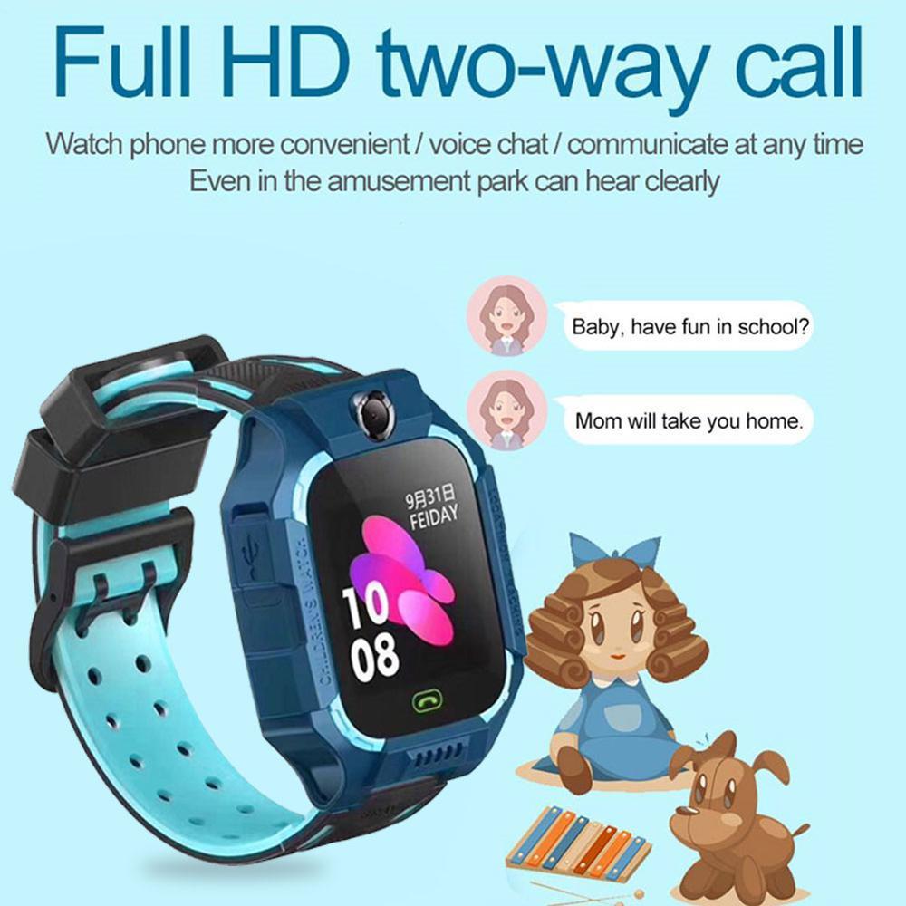 Z6 ساعة ذكية للأطفال IP67 عميق مقاوم للماء 2G بطاقة SIM لتحديد المواقع تعقب SOS مكافحة خسر ساعة ذكية ل IOS أندرويد PK Z5 Q12 Q50