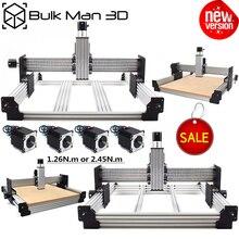 Workbee Kit de maquina enrutadora CNC con tensor de teja, Kit mecánico de CNC de 4 ejes, grabador de madera y Metal