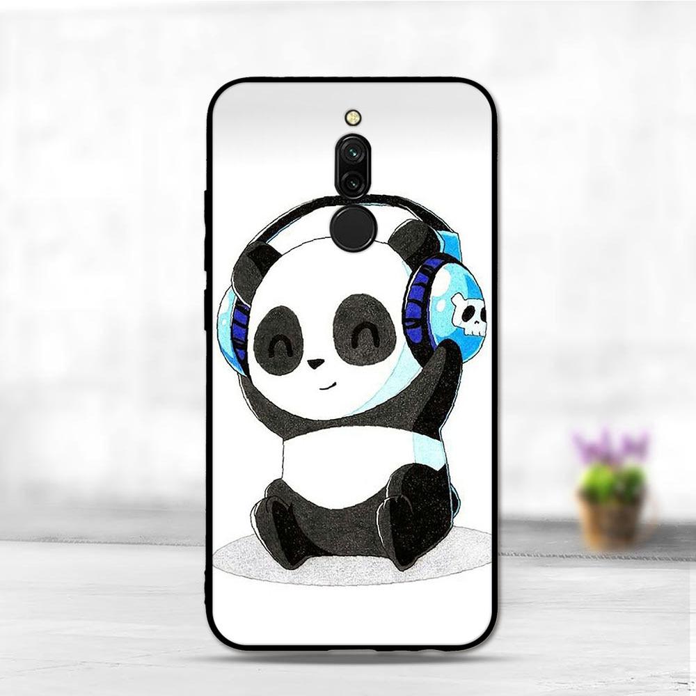 Case For Xiaomi Redmi 8 Case Silicone Cute Cover Phone Bags For Xiaomi Redmi 8 Cover Case Anime Soft TPU Funda For Xiomi Redmi 8
