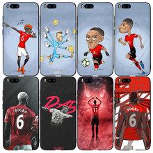 Football Pogba Martial Rashford Silicone Phone case cover Fo