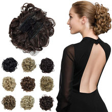 Грязные кудрявые волосы для наращивания гребни заколки волос