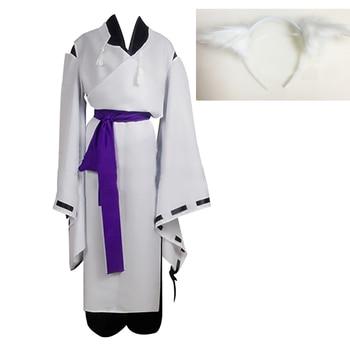 Anime Inu x Boku SS Cosplay ririchiyo shirakiin Miketsukami Soushi uniforme traje Servicio Secreto de Halloween conjunto completo