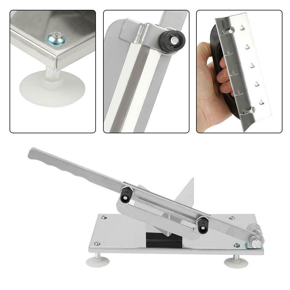 Manual Meat Slicer Stainless Steel Meat Cutter Beef Mutton Vegetable Food Slicer Home Hogard