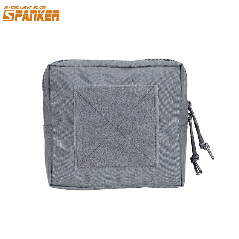 EXCELLENT ELITE SPANKER Outdoor Camo Military Debris Packs Tactical Molle Waterproof Square Bag Jungle Hunting Accessories image