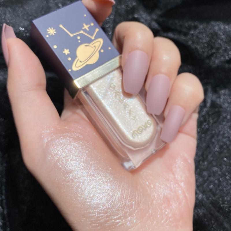 3d мерцающий макияж бронзер для лица жидкий хайлайтер осветлитель