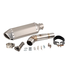CB 600F Motorcycle For Honda Hornet CB600F 600 CBR F Escape Slip-on Exhaust Pipe And Link System